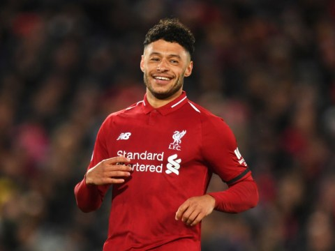 Alex Oxlade-Chamberlain thanks Liverpool fans after return to action
