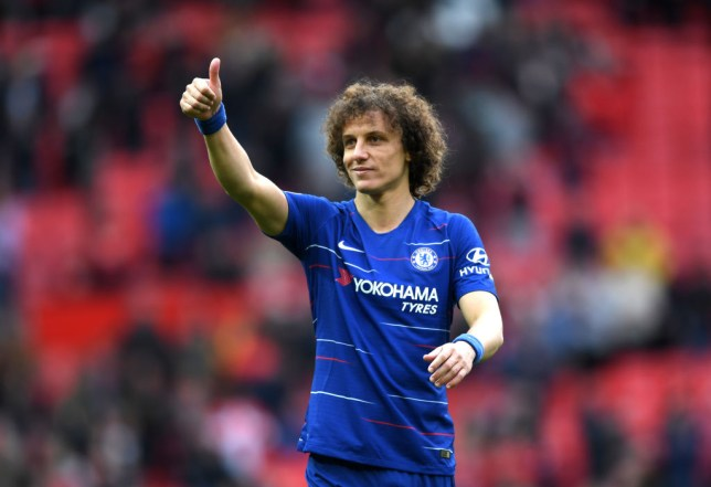 David Luiz is happy with Maurizio Sarri's tactics