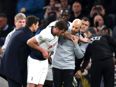 Jan Vertonghen update after defender's horrifying injury against Ajax