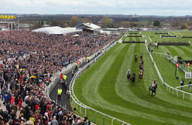 Aintree Racecourse - home of the Grand National