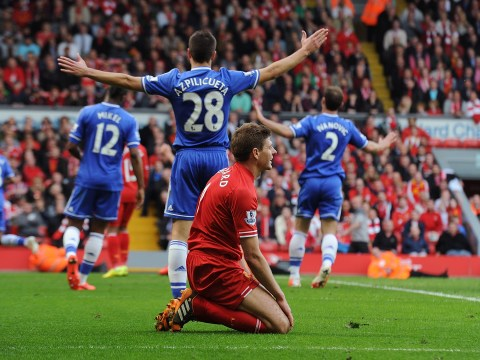 Demba Ba taunts Liverpool about Steven Gerrard slip ahead of Chelsea clash