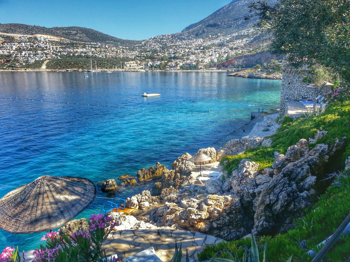 Kalkan, set on the Turkish Mediterranean, also known as the Turquoise Coast, is the perfect holiday destination for singles, couples and families (Picture: Getty)