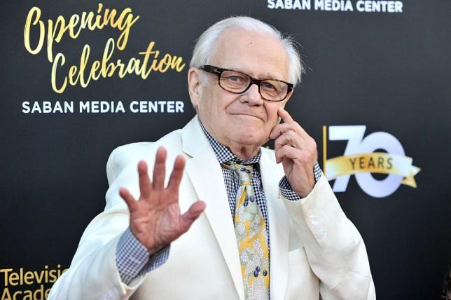Dallas star Ken Kercheval, who played JR Ewing's rival Cliff Barnes, dies aged 83