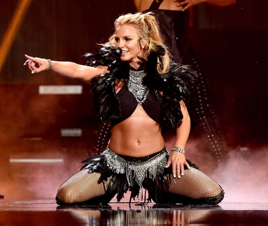 Britney Spears at iHeartRadio Festival