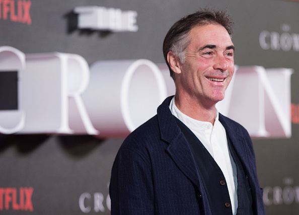 What TV shows has Greg Wise been in as he appears in Celebrity Bake Off?