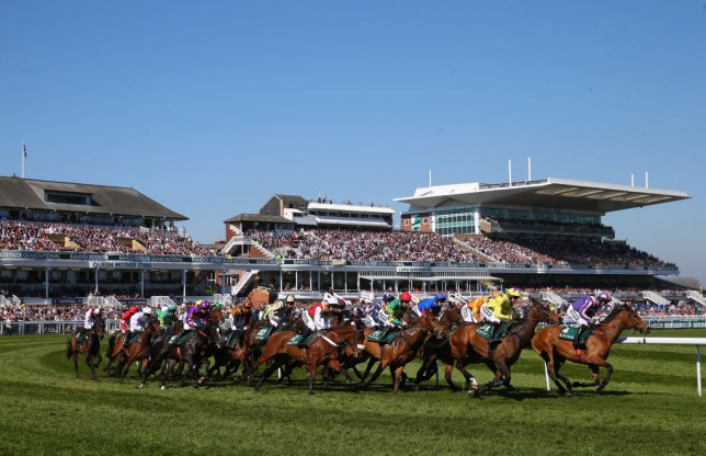 Grand National Steeplechase at Aintree