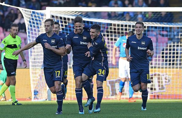 Lucas Torreira was at Sampdoria with Arsenal transfer target Dennis Praet