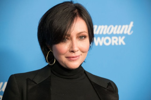 Shannen Doherty admits she will never 'be the size I used to be' after cancer treatment