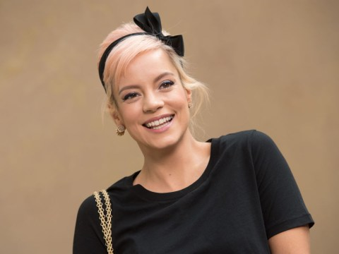 Now Lily Allen is going topless because celebrities are just stripping off for Easter