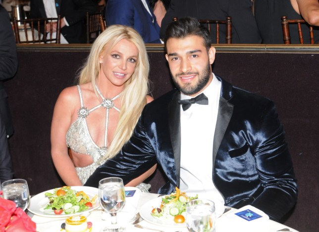 Britney Spears and Sm Asghari