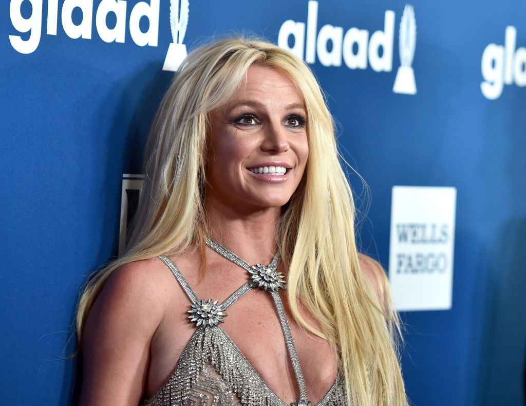 Britney Spears at GLAAD Awards