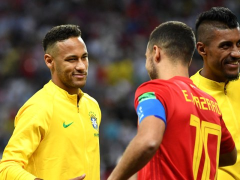 PSG star Neymar admits he'd love to play with Eden Hazard if he leaves Chelsea