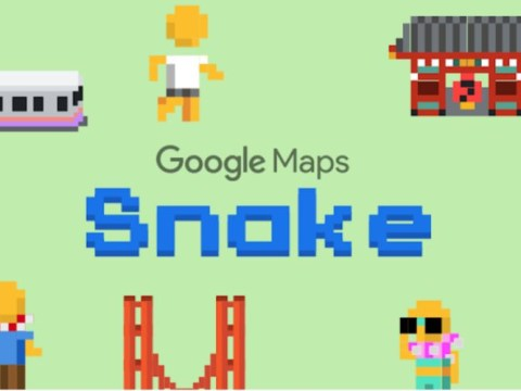 Google puts classic Snake game into Maps for April Fools' Day