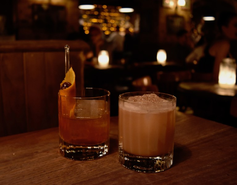cocktails at The Baxter Inn in Sydney, Australia