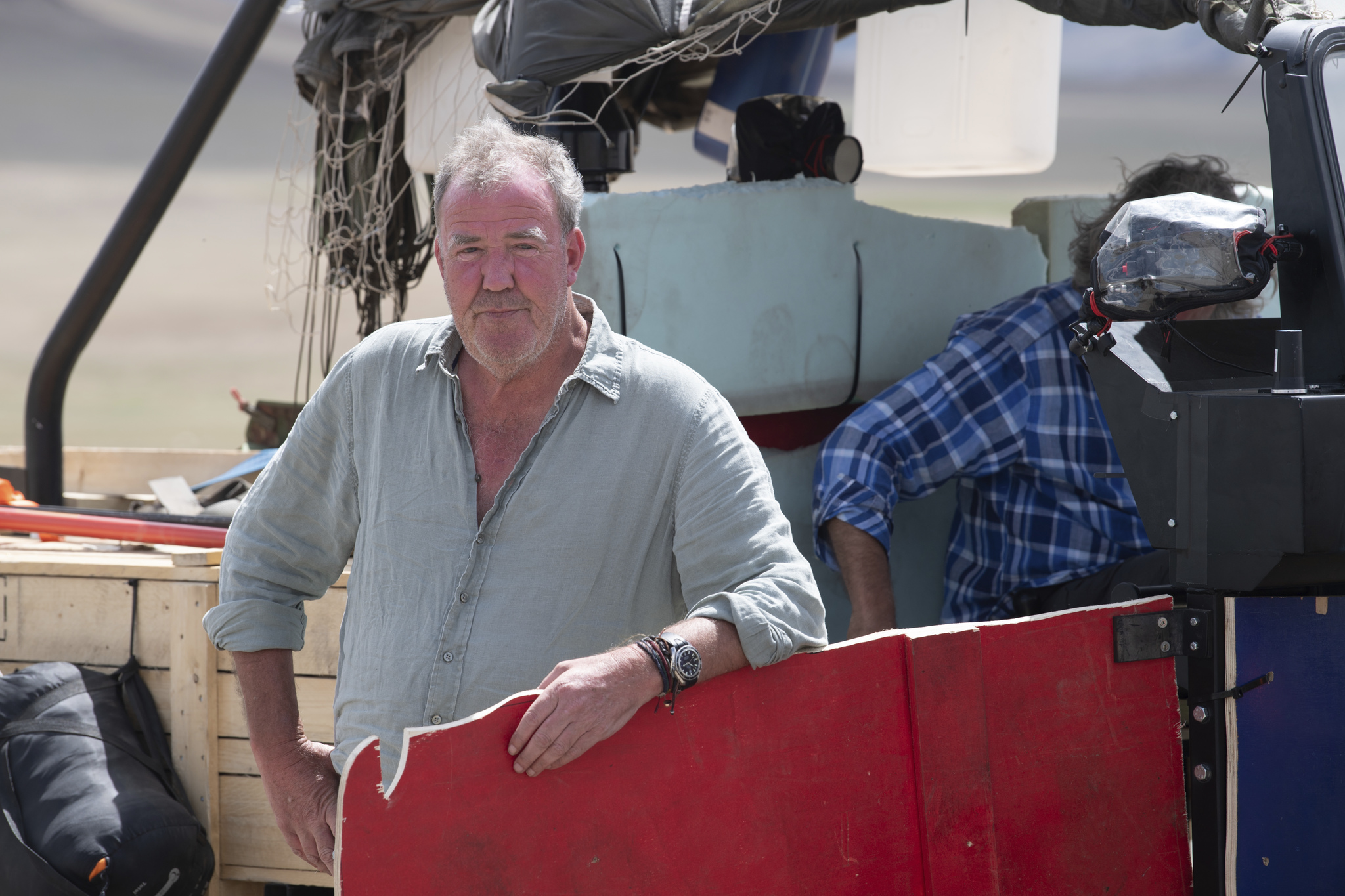 Jeremy Clarkson looks glum AF as he's forced to live on veggie rations in epic The Grand Tour feature-length season 3 special