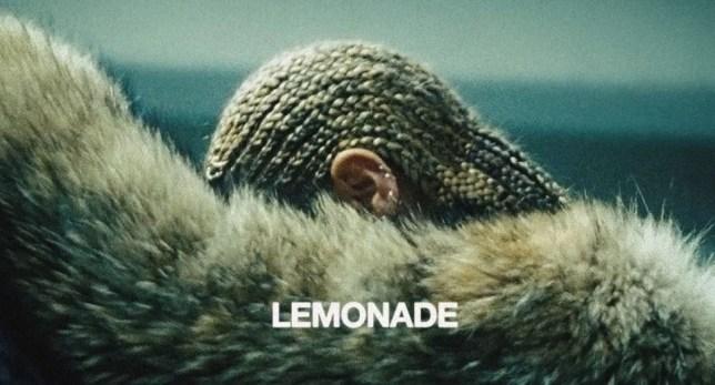 The album cover of Beyonce's Lemonade