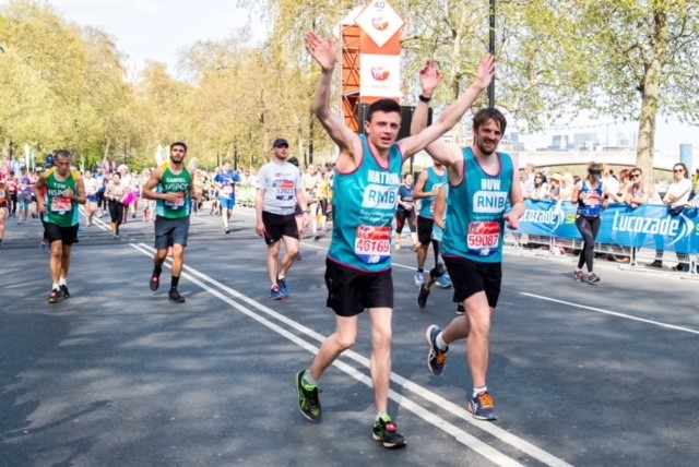There's nothing like completing the London Marathon as your brother's guide runner