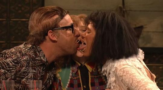 Adam Sandler / Kate McKinnon / Kristen Wiig (Picture: NBC)
