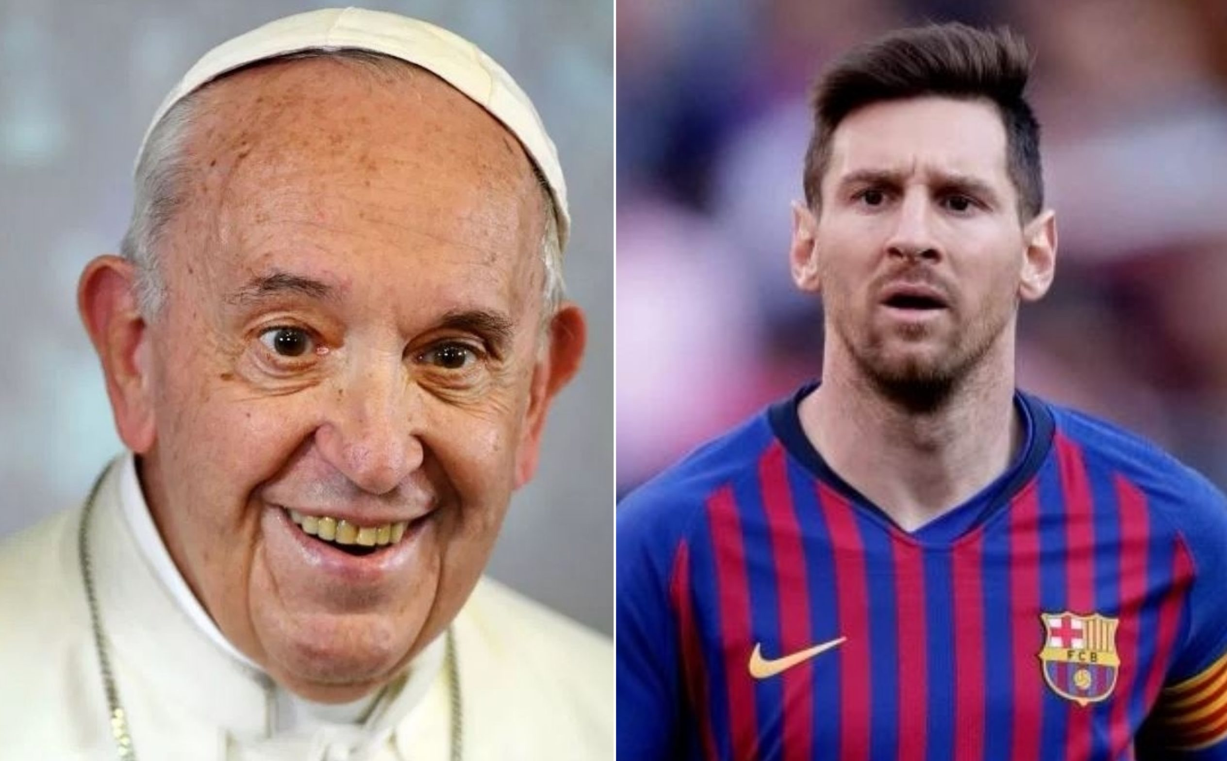 Pope Francis confirms that Lionel Messi isn't God