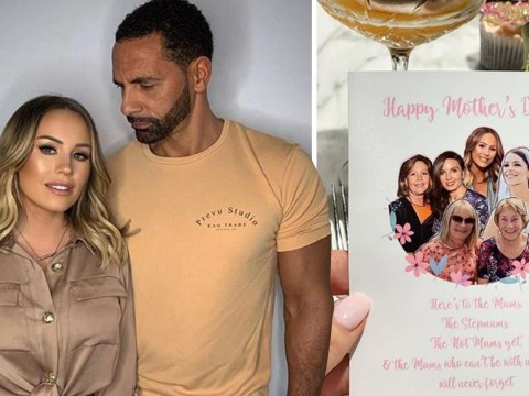 Kate Wright honours fiance Rio Ferdinand's late wife Rebecca on Mother's Day