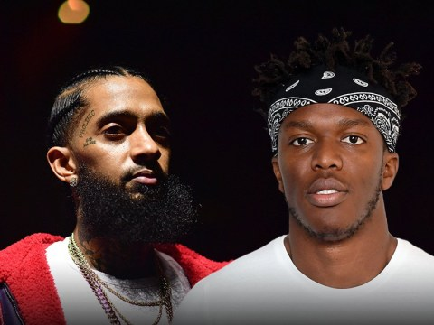 KSI passionately speaks out about gun control after Nipsey Hussle's death