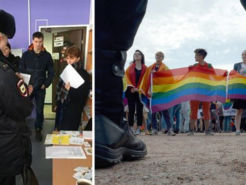 LGBT centre raided in Russia and volunteers detained inside
