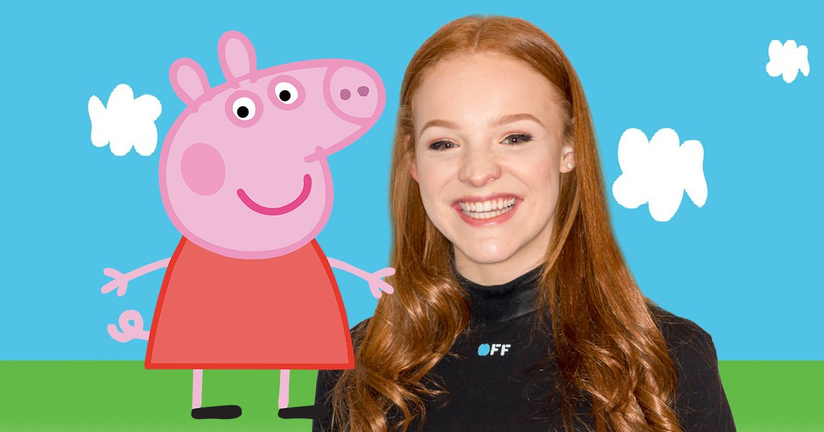 Harley Bird, the voice of Peppa Pig, actually owns a pig called Peppa