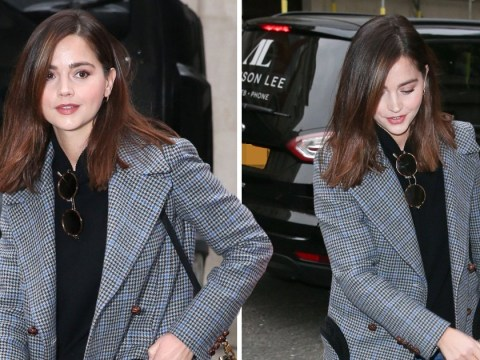 Jenna Coleman keeps head down after hinting at Victoria exit: 'I'm going to pass regal baton on'