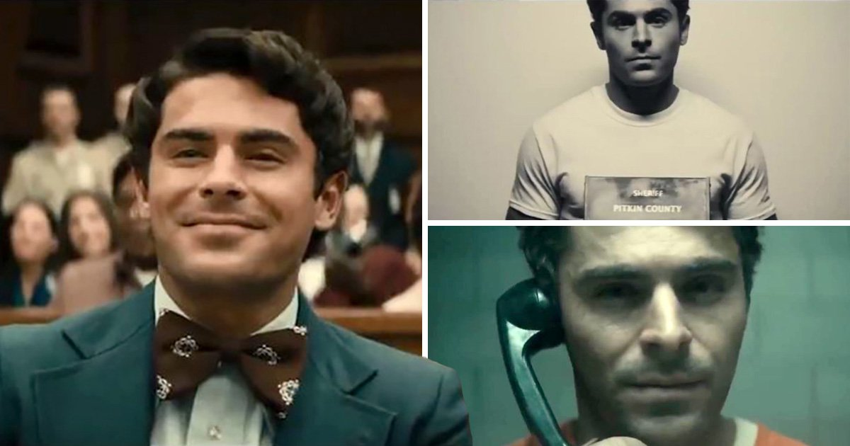 Zac Efron goes full sociopath Ted Bundy in chilling new Extremely Wicked, Shockingly Evil and Vile trailer
