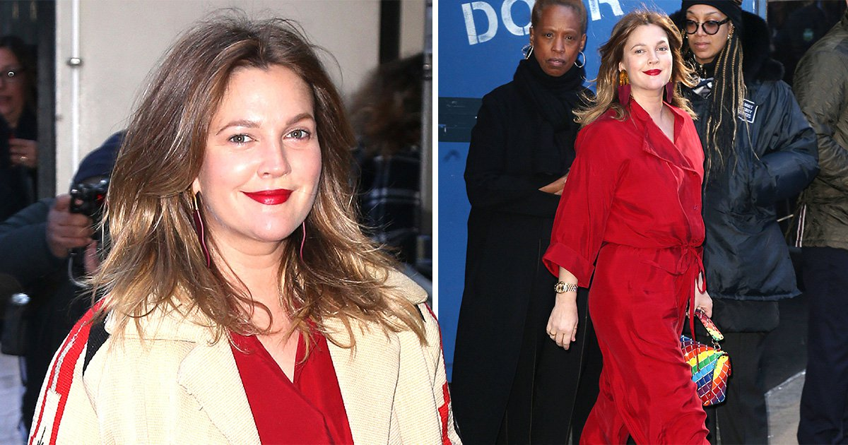 Drew Barrymore goes glam for Good Morning America as she credits Santa Clarita Diet for giving her purpose after divorce