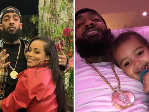 Lauren London shares first real photos of son Kross' face in heartbreaking Nipsey Hussle tribute