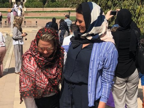 Lisa Armstrong is well and truly loving life in Oman and we're living vicariously through the photos