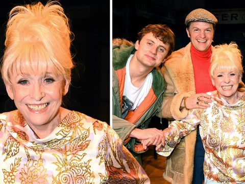 EastEnders' Barbara Windsor beams on rare appearance with husband Scott Mitchell after Alzheimer's diagnosis