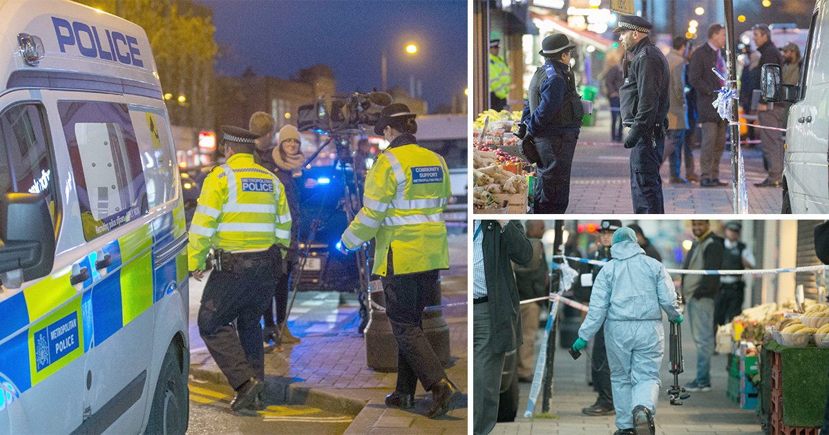 Man 'hacked to death with machete' as London endures more bloodshed