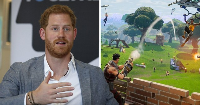 Epic Games thinks Prince Harry was wrong about Fortnite
