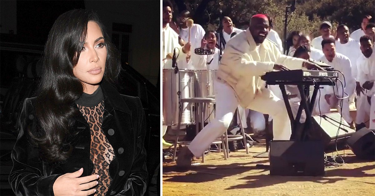 Kim Kardashian claims Kanye West uses his Sunday Service as 'a healing experience'