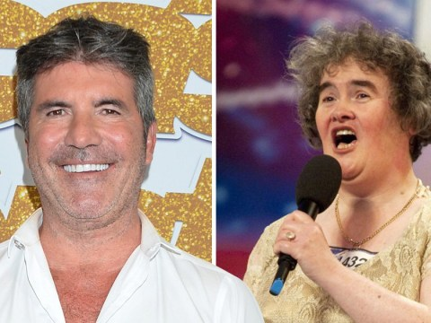 Simon Cowell gave Susan Boyle 'pep talk' after she refused to quit 'stressful' Britain's Got Talent final