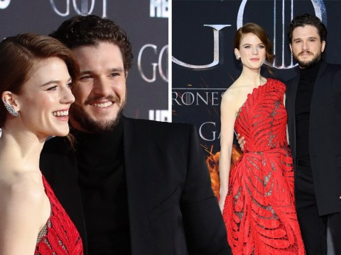 Game of Thrones' Kit Harington and Rose Leslie are couple goals with loved-up season 8 premiere appearance