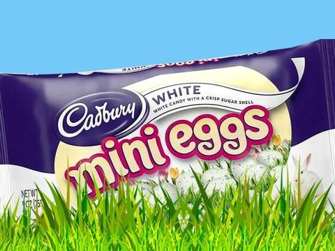 How to get Cadbury White Mini Eggs here in the UK
