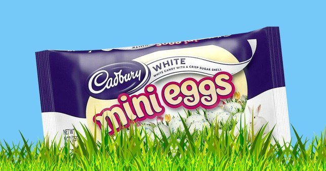 Cadbury White Mini Eggs