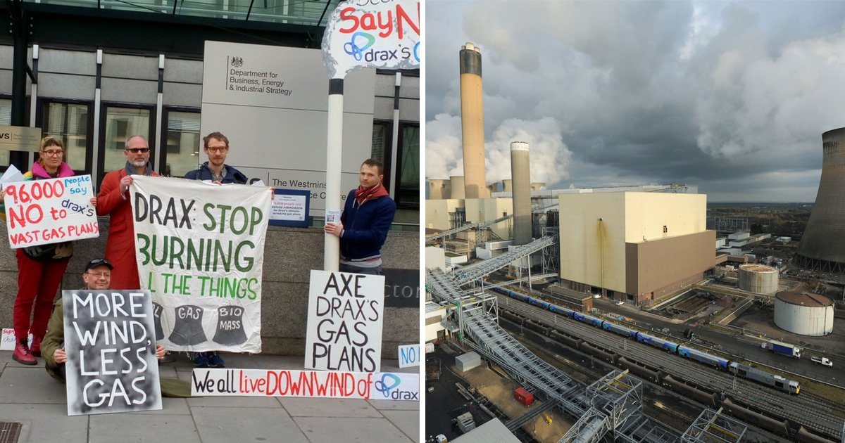 Green campaigners demand ministers reject plans for UK's largest gas power plant