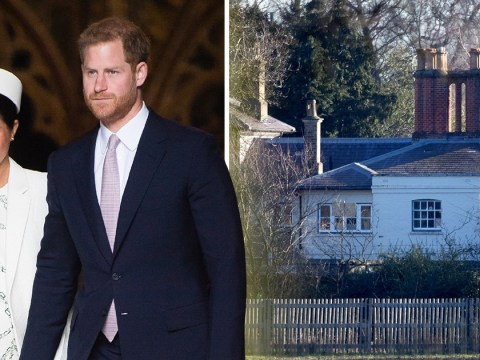 Meghan and Harry settle into Frogmore Cottage weeks before royal baby arrives