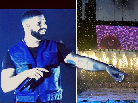 Drake dazzles London's O2 Arena with theatrics but the pillow talk makes it less than perfect