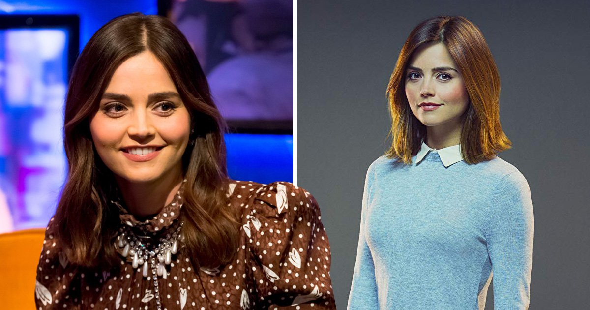 Jenna Coleman stole a piece of the Tardis from Doctor Who: 'I stole quite a lot actually'