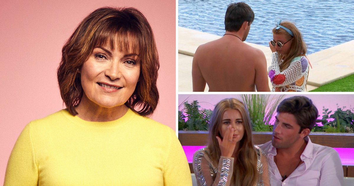 Lorraine Kelly claims Love Island's Jack Fincham and Dani Dyer had 'zero sexual chemistry'