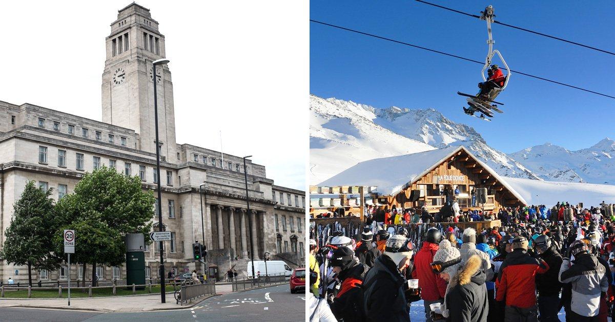Leeds university ski students 'could face prison over drug offences in France'