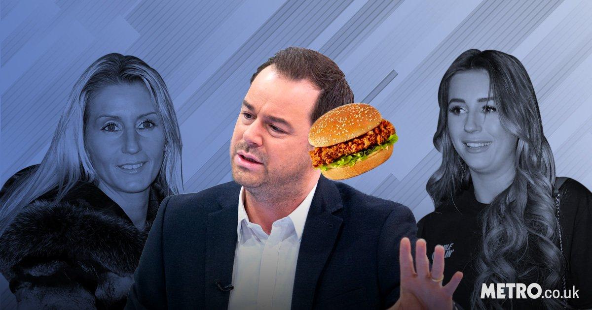 Dani Dyer reveals mum Jo Mas lobbed KFC Zinger Burger at hubby Danny Dyer