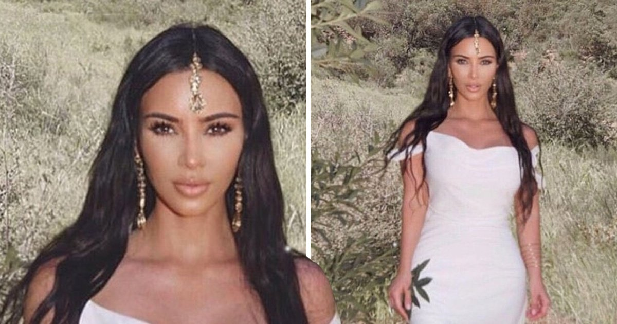 What is a maang tikka, the piece of jewellery that Kim Kardashian was spotted wearing?