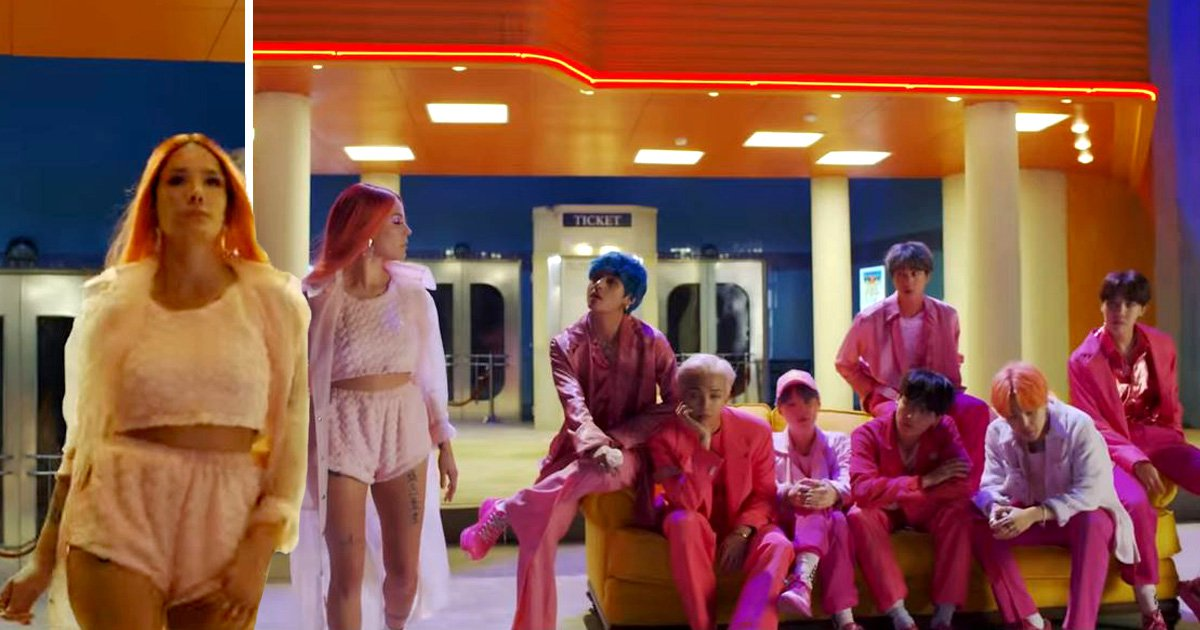 BTS will perform Boy With Luv with Halsey at BBMAs as they continue world domination