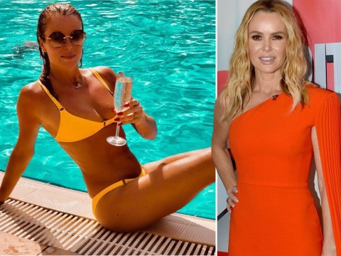 Amanda Holden poses in bikini on Dubai holiday to celebrate Britain's Got Talent's highest ratings